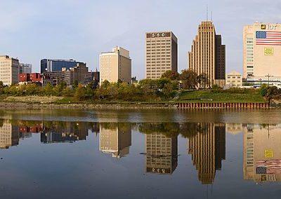 Skyline of downtown Newark