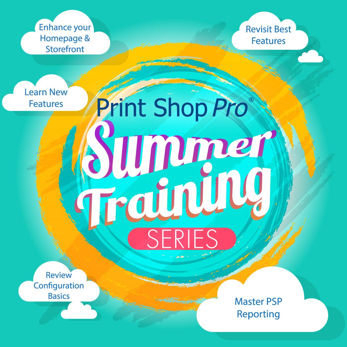 PSP Summer Training Series graphic