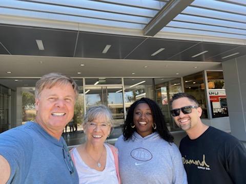 Photo of Mike & Tonnia Strand, Leeann Raymond and Jordan Matanane