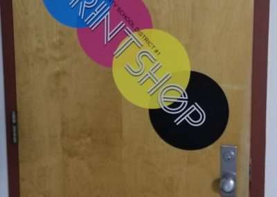 Photo of Printshop entrance