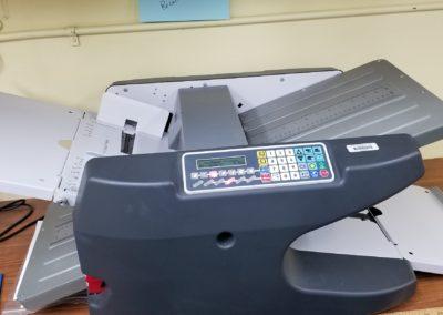 Photo of Martin Yale folding machine