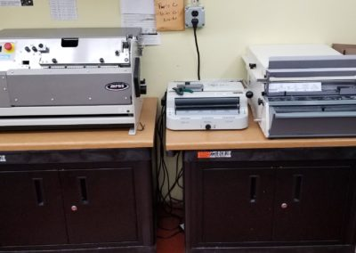 Photo of Spiral and punch machines